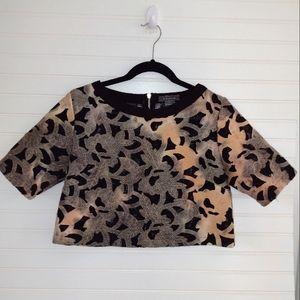 Gracia Bloomingdales Crop Shirt